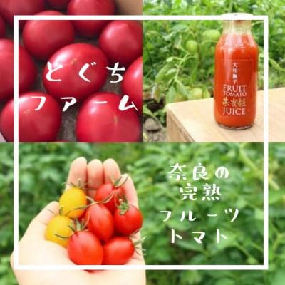 奈良の名産完熟トマト/とぐちファーム