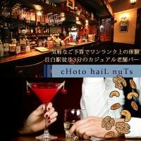 cHoto haiL nuTs|目白駅徒歩3分の心温まるカジュアル老舗バー