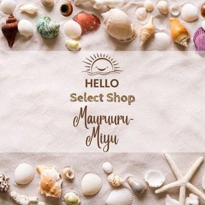 沖縄/サンゴに優しい日焼け止めで海とお肌を守る/mauruuru(マウルル)-miyuSHOP