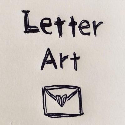 レターアート ハンドメイドのアート雑貨*〜Letter Art〜