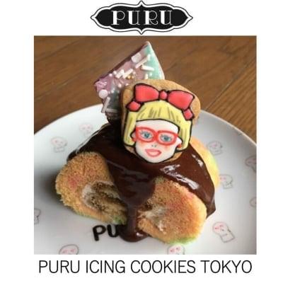 ROCKでPOP!PURUアイシングクッキー TOKYO