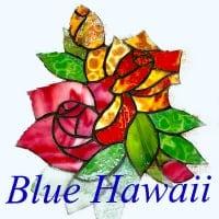 ステンドグラスのインテリア小物販売/Blue Hawaii