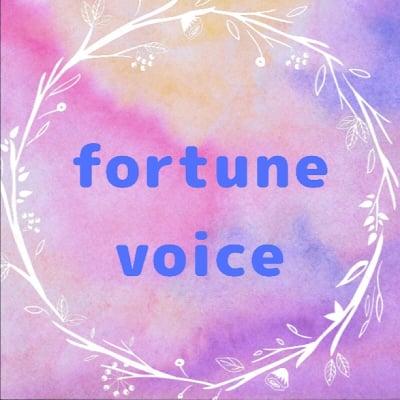 fotune voice        声で人生を変える
