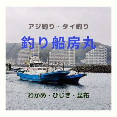 釣り船 房丸 横須賀浦賀  海釣り 房丸わかめ 海藻製造販売