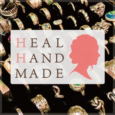 """HEAL HAND MADE"" アートクレイシルバー教室&シルバーアクセサリーショップ"