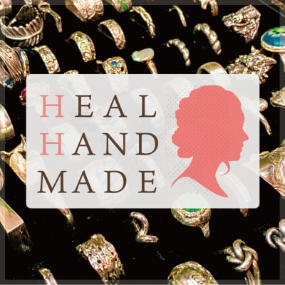 """HEAL HAND MADE"" 銀粘土アートクレイシルバー教室&シルバーアクセサリー"