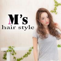 M's hair style【エムズヘアスタイル】新潟市東区中山