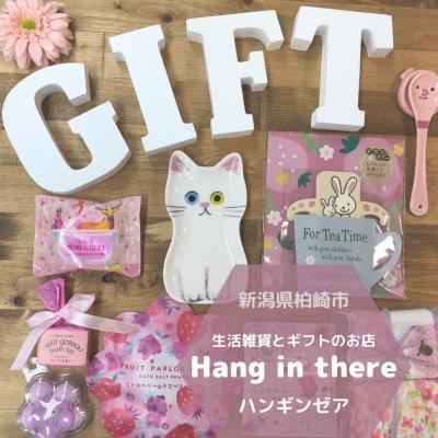 新潟県柏崎市の生活雑貨とギフトのお店ハンギンゼア~Hanginthere~