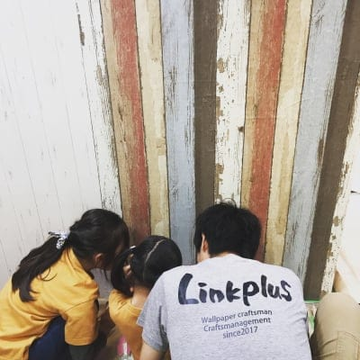 壁紙職人×器+レンタルスペース Linkplus