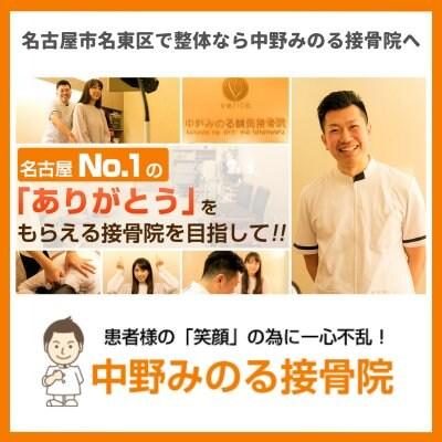 骨盤矯正や腰痛治療は名古屋市名東区の中野みのる接骨院へ