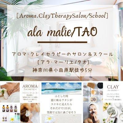 アロマ・クレイセラピー・Exサロン&スクール[ala malieアラ・マーリエ]  [TAOタオ] 神奈川県小田原市