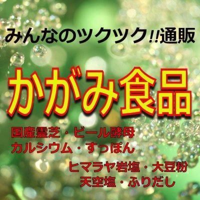 岩塩/カルシウム/粉末豆乳/国産ビール酵母/国産霊芝の通販サイト かがみ食品