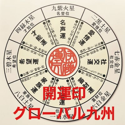 佐賀/開運印/グローバル九州