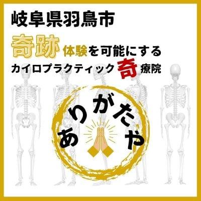 岐阜県羽鳥市[ありがたや奇療院]カイロプラクティック治療