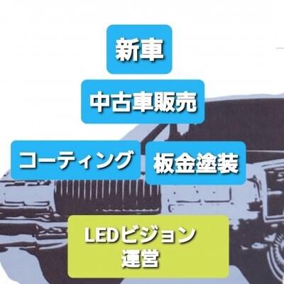 LEDビジョン広告店、中古車販売、ボディーコーティング/つみきケア