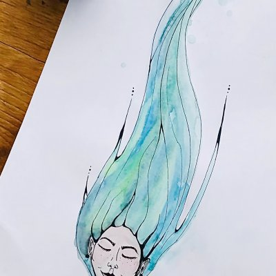 Organic hair and make まはな
