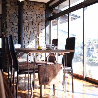 ~ 星降る田舎の古民家カフェ~   Cafe'de arts rukkora     「 カフェ・ド アーツ ルッコラ」       &   賢造ギャラリー
