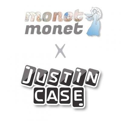 モネモネ x  JUSTIN CASE