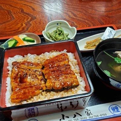 新潟県十日町市 鰻と鯉の小八家