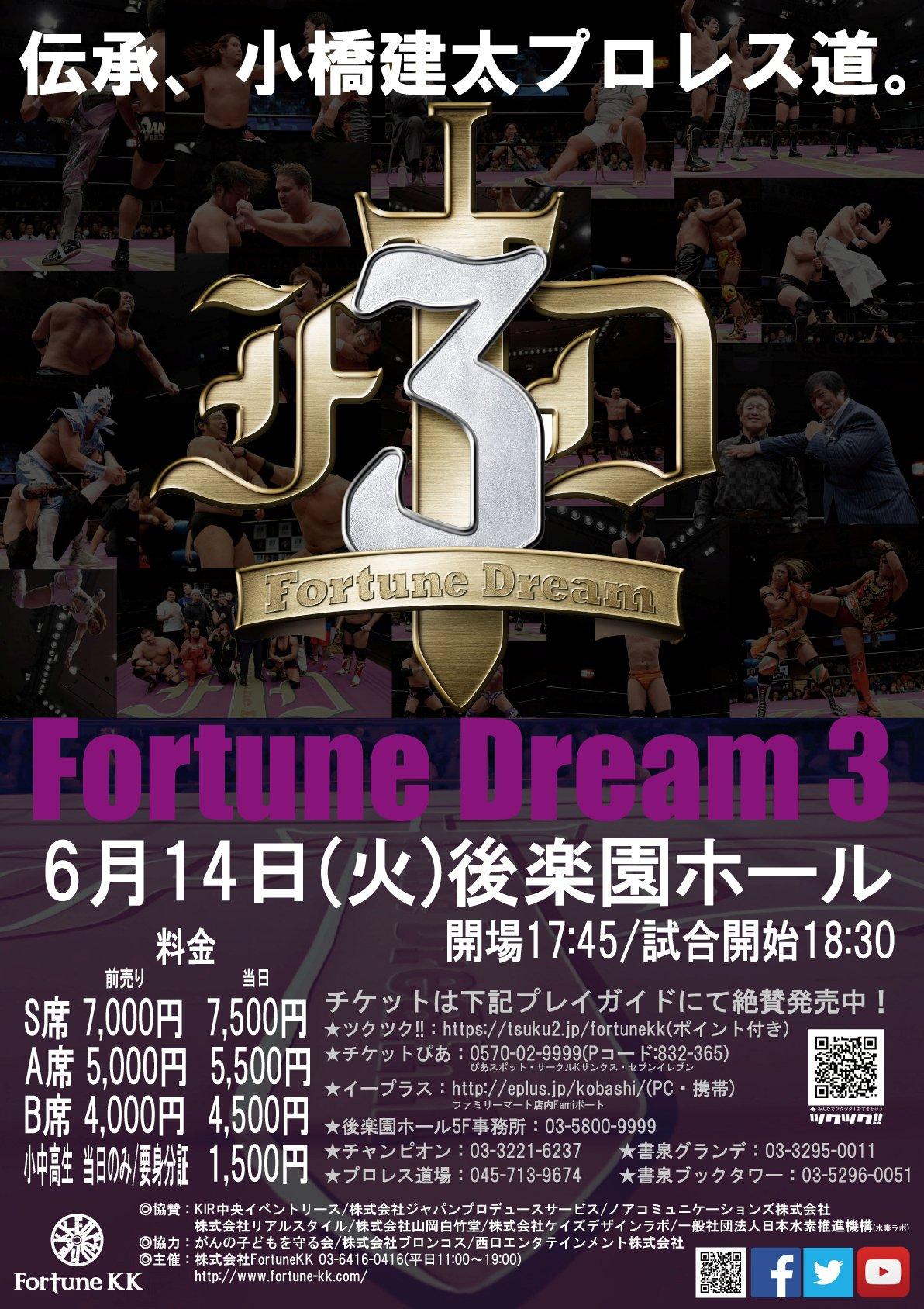 FortuneDream3協賛