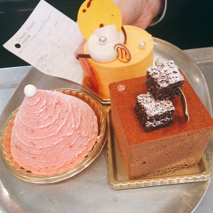 ガリューMのケーキたち