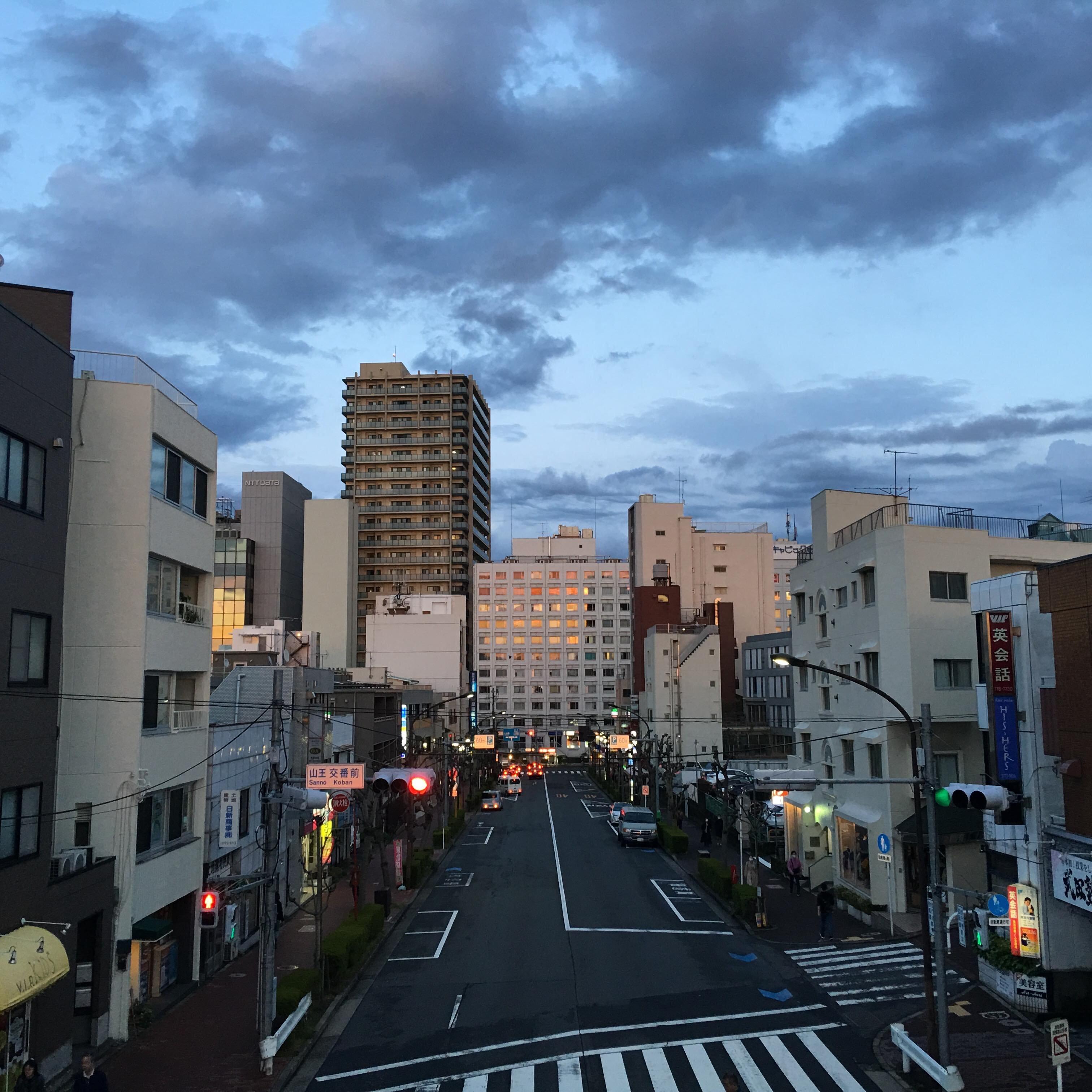 JR大森駅前の風景