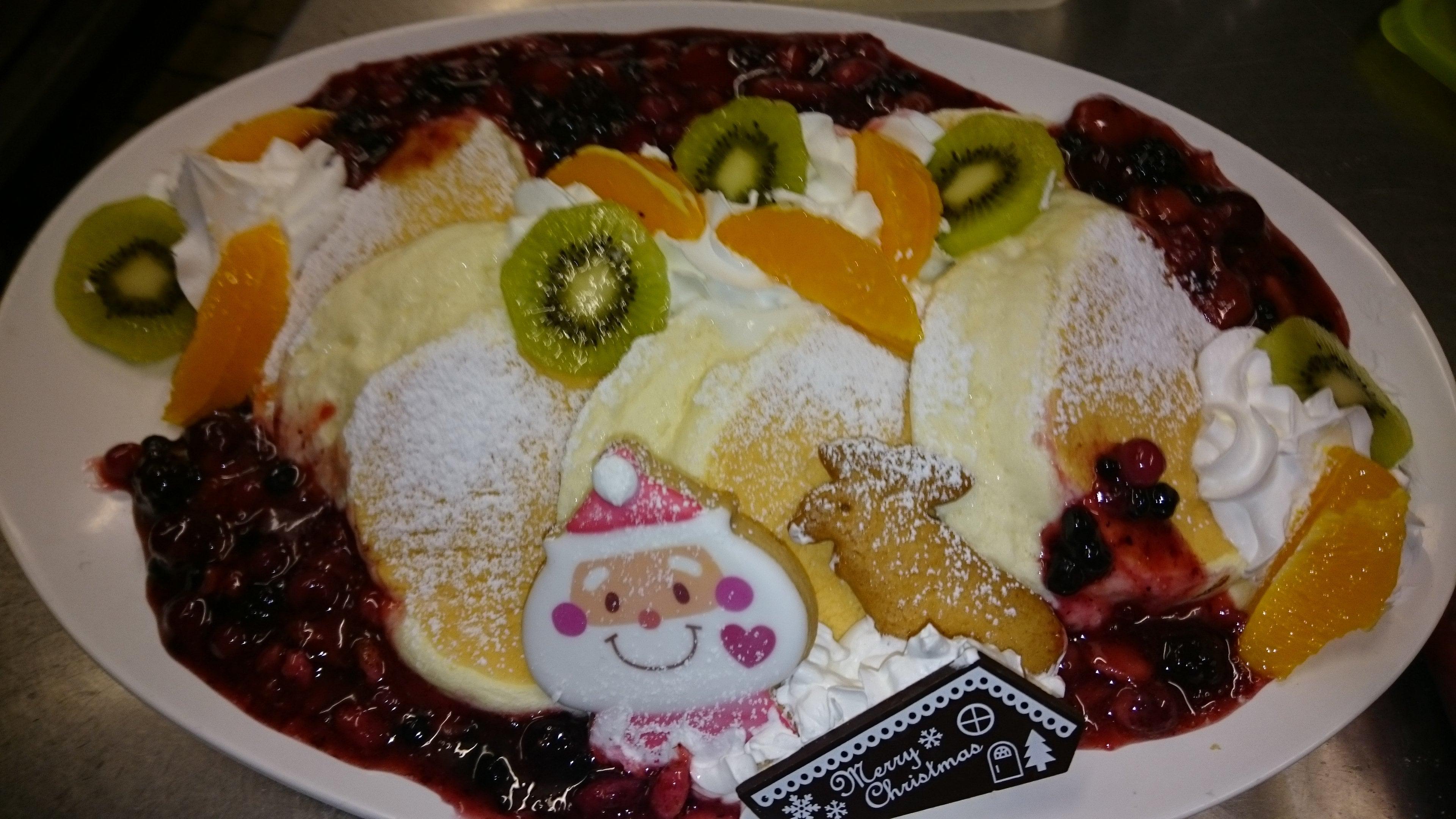 クリスマス特別パンケーキ