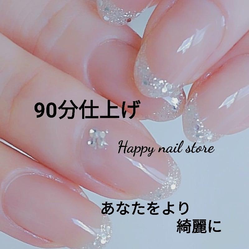 フレンチジェルネイル/春/夏//