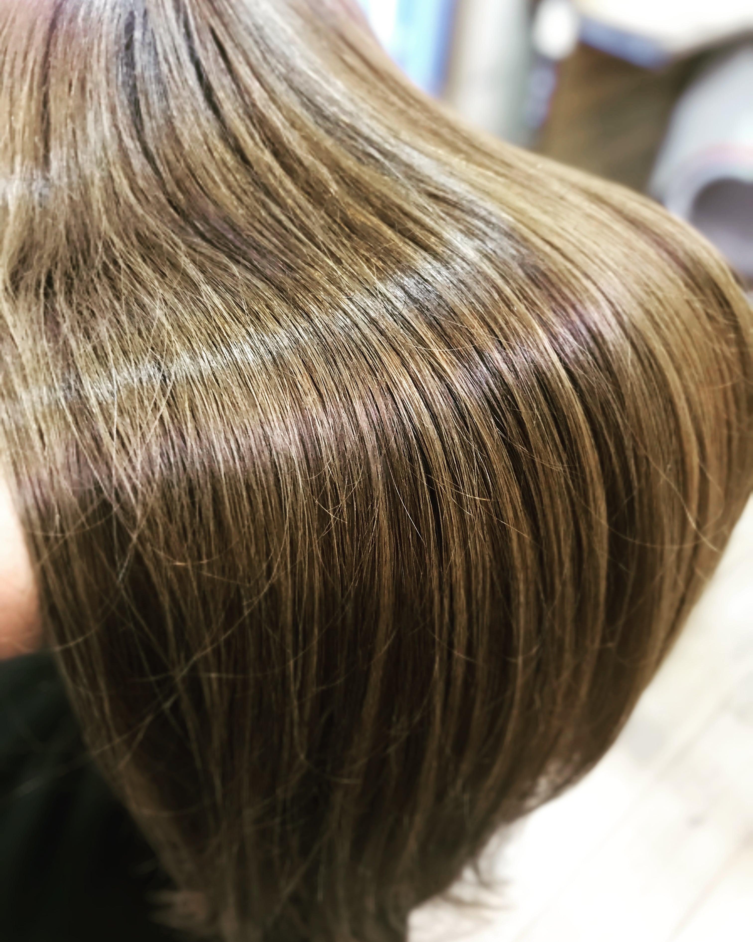 髪質改善ツヤツヤスタイル