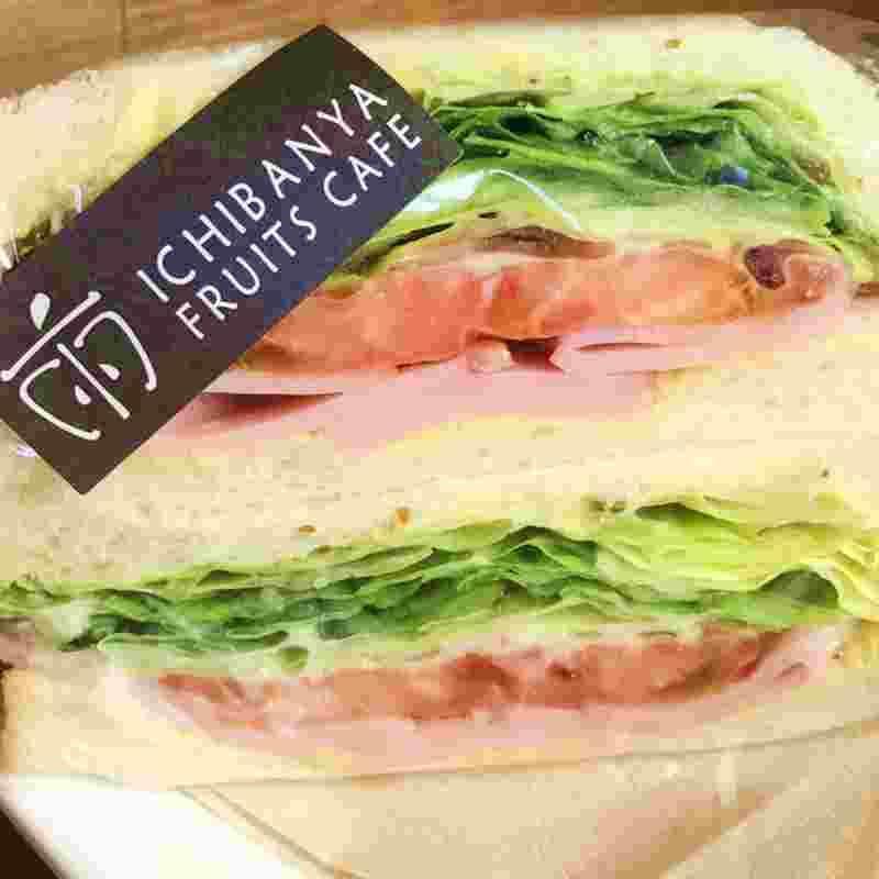 スモークサーモン&モッツァレラチーズサンド/テイクアウトサンドイッチ