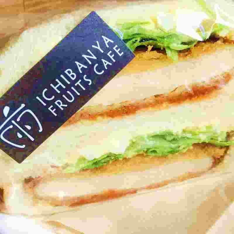 三元豚カツサンド/テイクアウトサンドイッチ