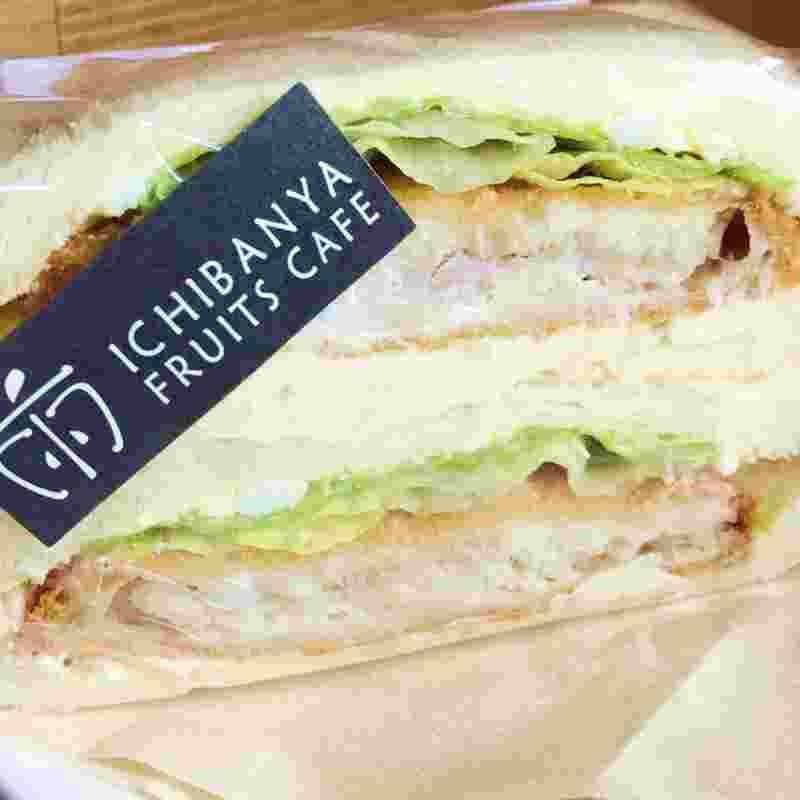 白身魚フライサンド/テイクアウトサンドイッチ