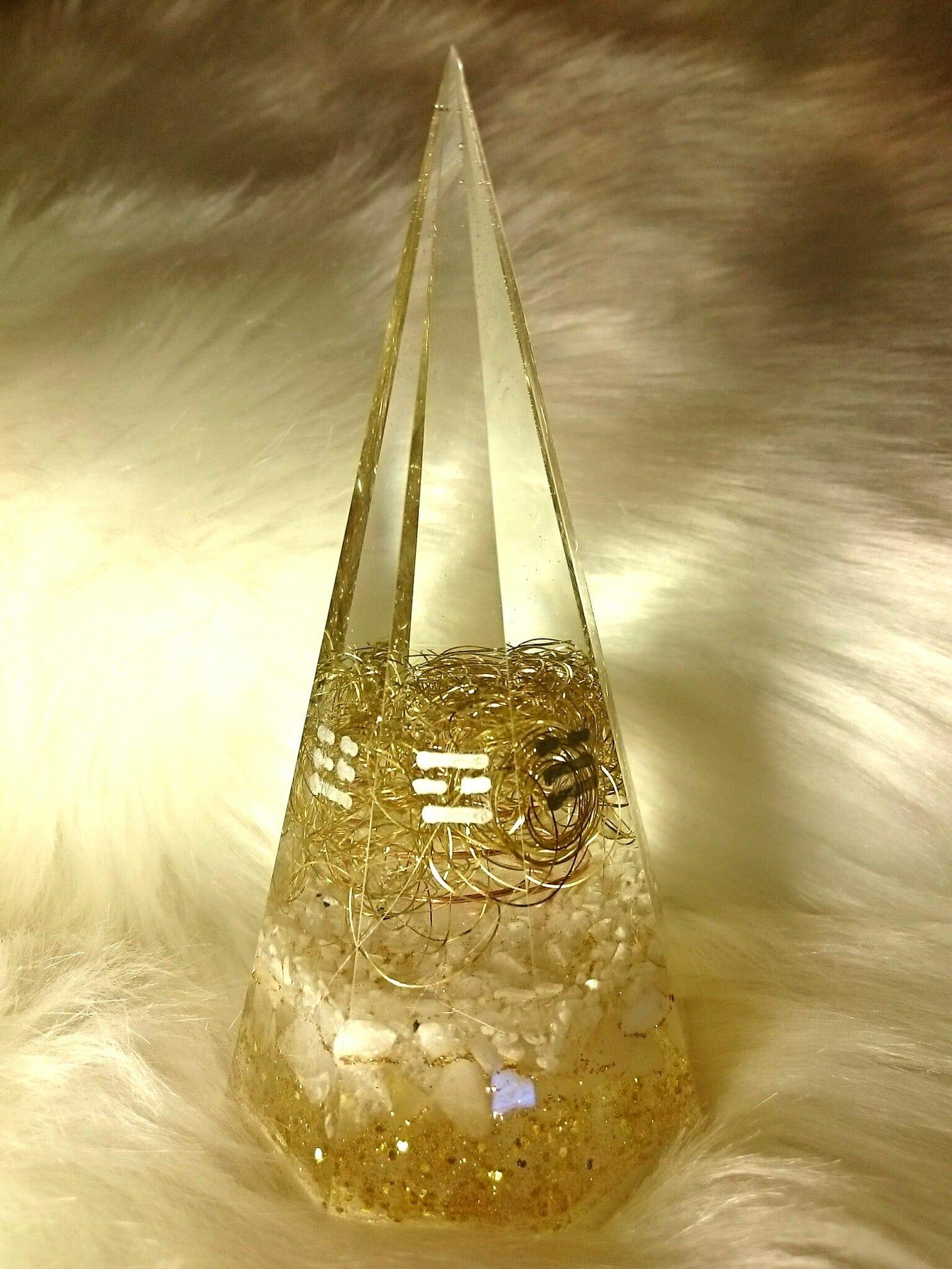 Hiro✡オリジナル オルゴナイト〜Orgonite〜八角錐