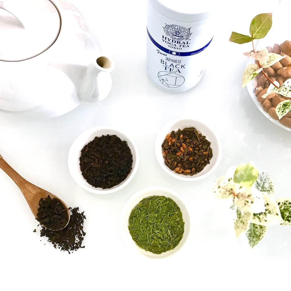 茶葉から香り立つオーガニックティー|Japanese Organic Tea by HYDRAL YOGA TEA TOKYO