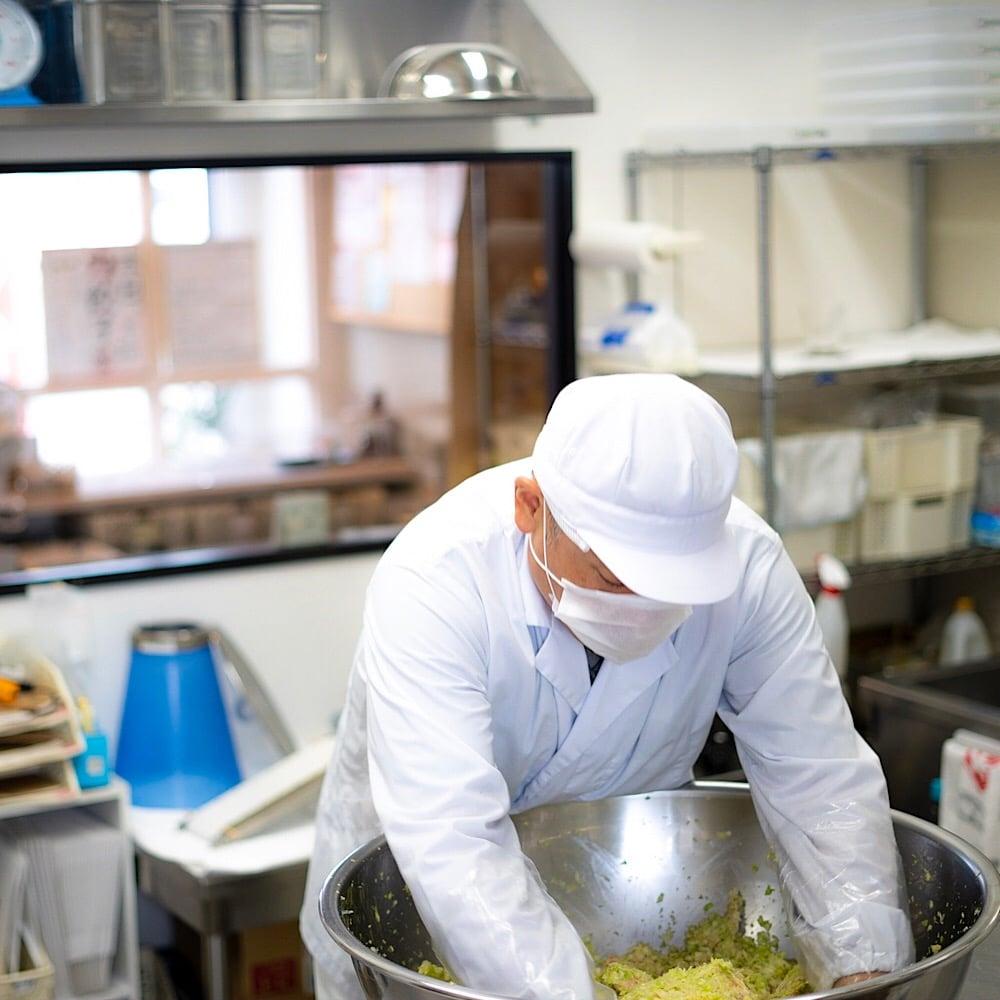 手作り餃子