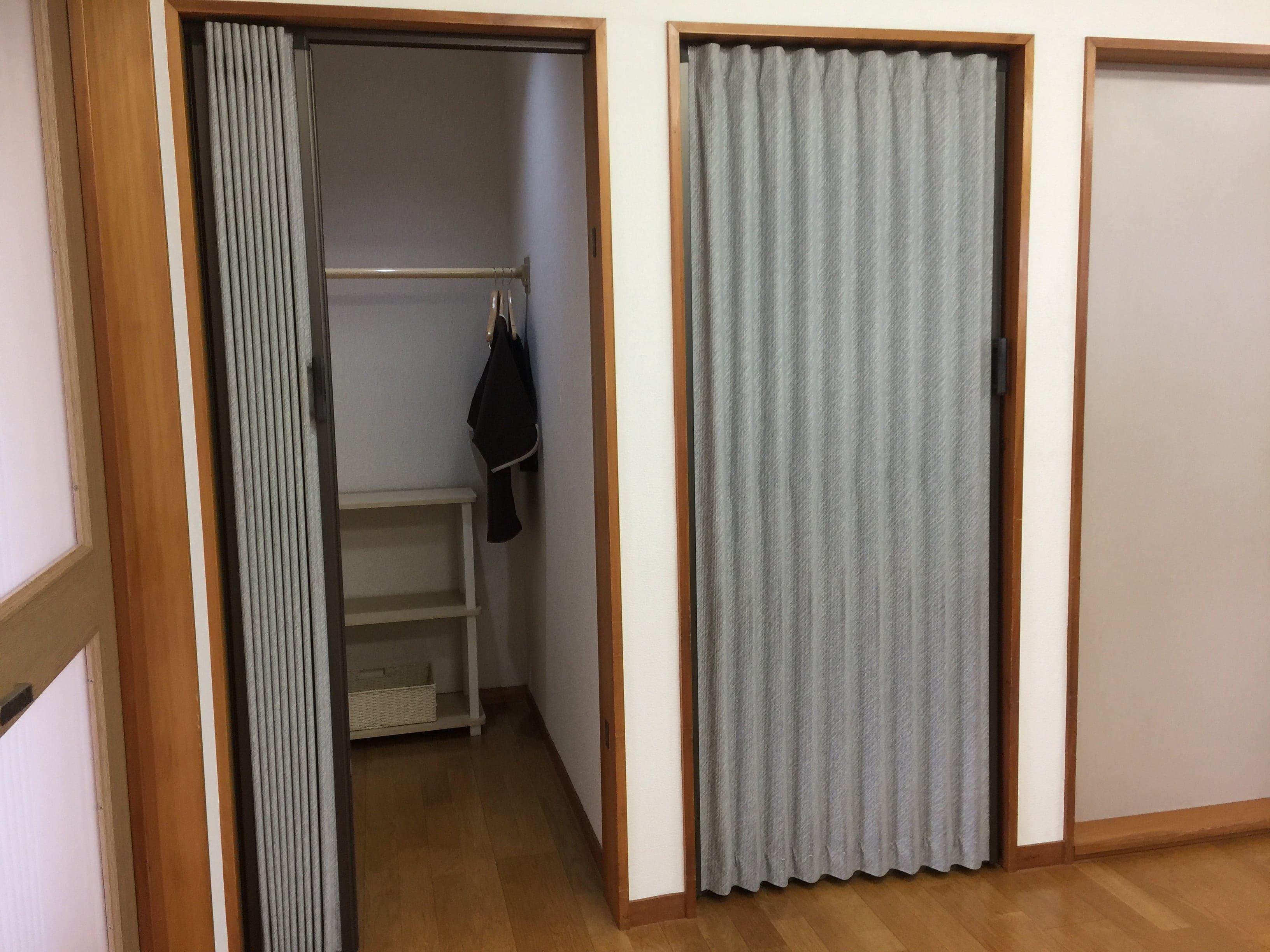更衣室です。