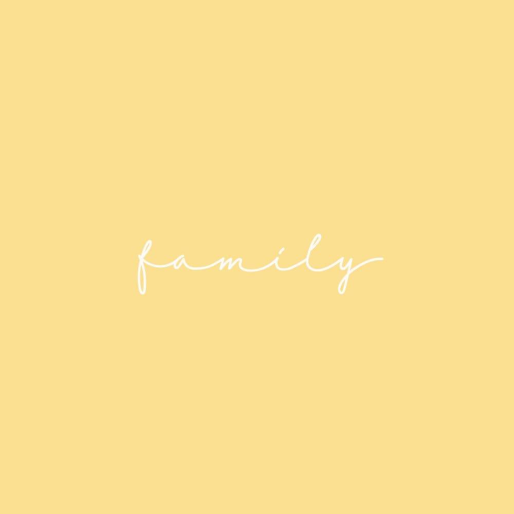 family photo(家族写真)