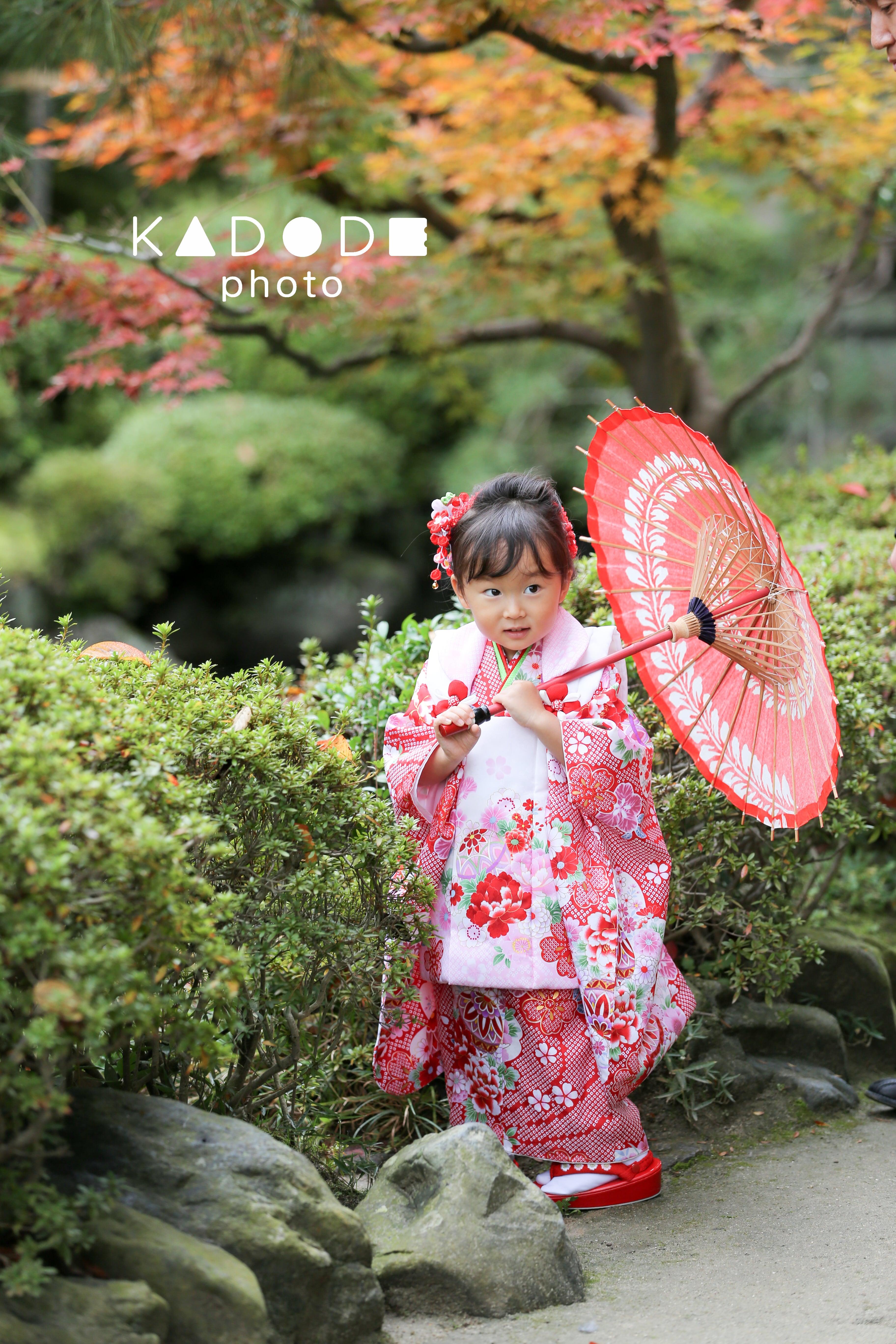 七五三ロケーション撮影(3歳女の子)
