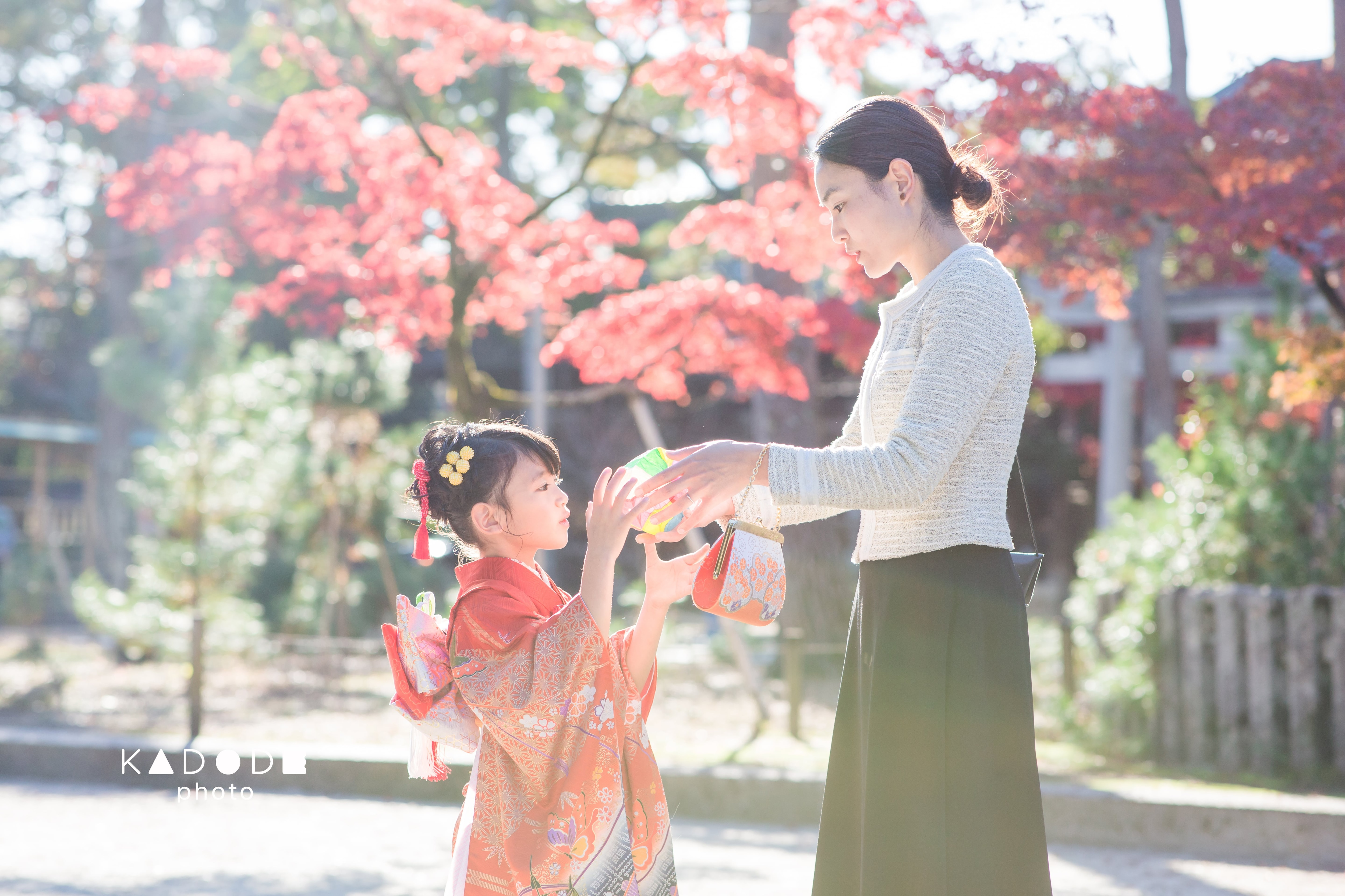七五三ロケーション撮影(7歳女の子)