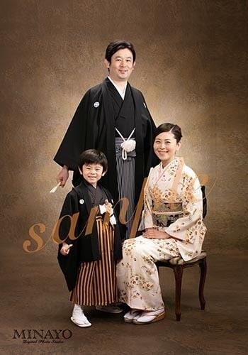 男性用袴のサンプルです。