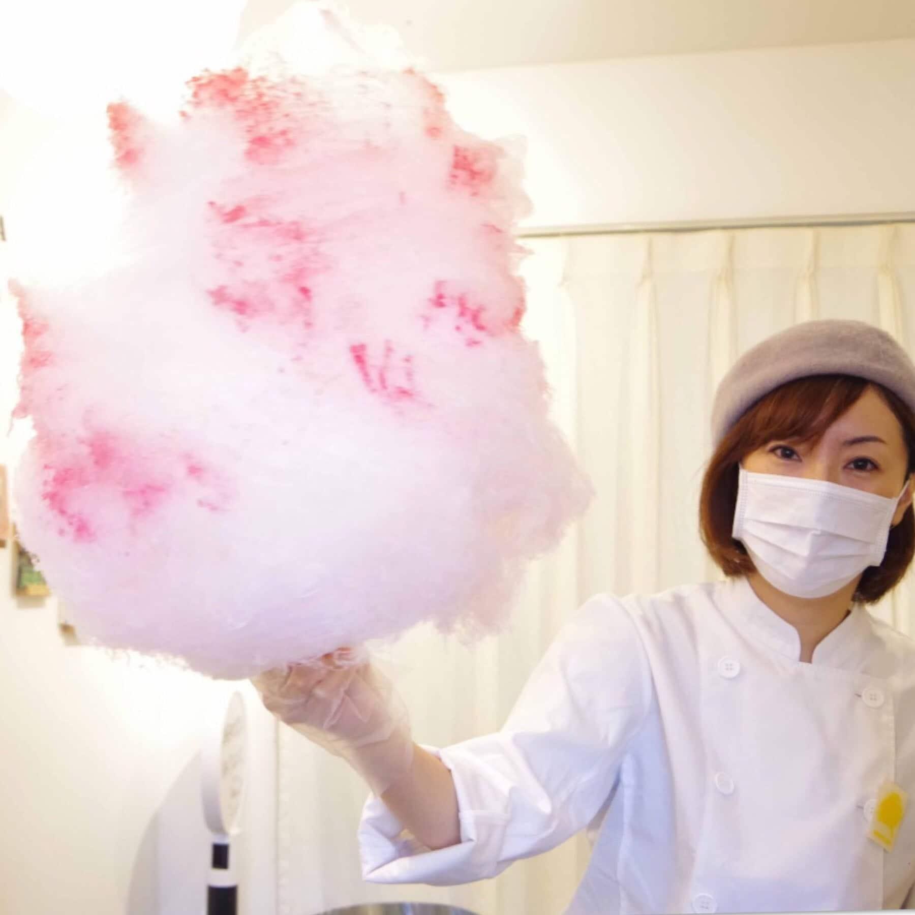 綿菓子【まるごといちご】