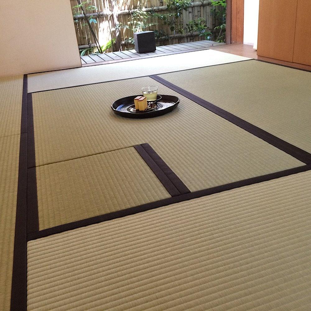 お茶室の畳