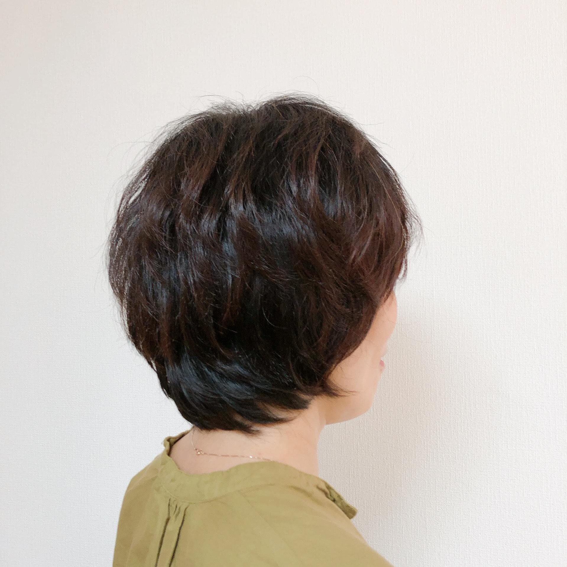 くせ毛を味方に素敵スタイル