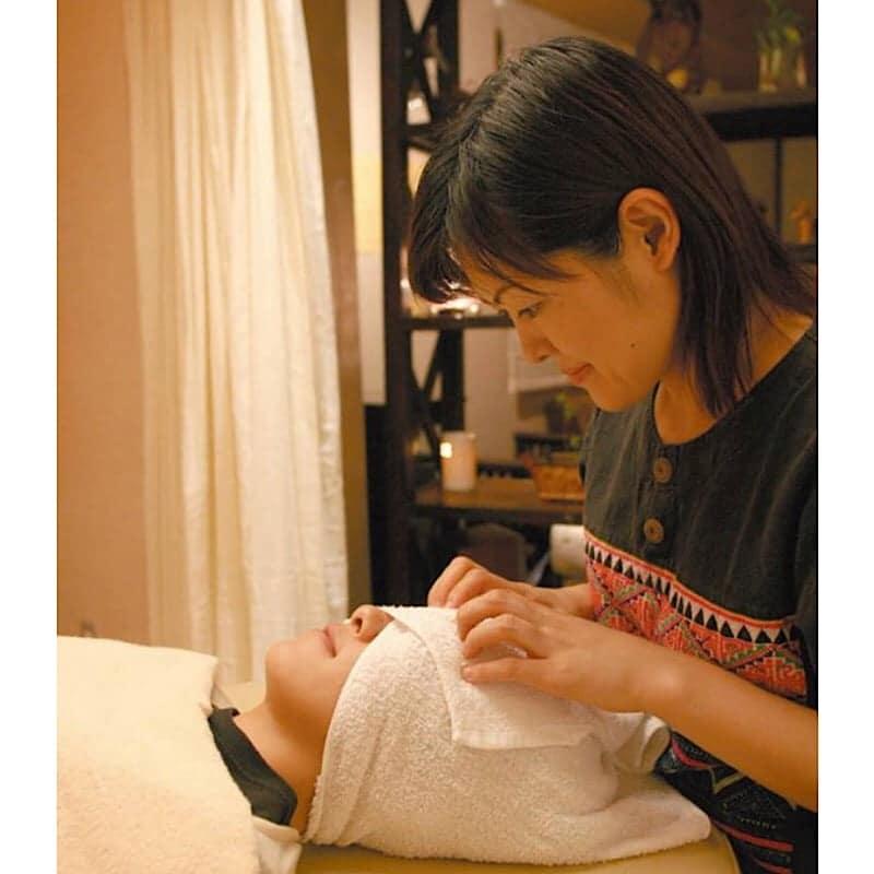 ヘッドセラピーは全身コースやアジアの風に含まれます