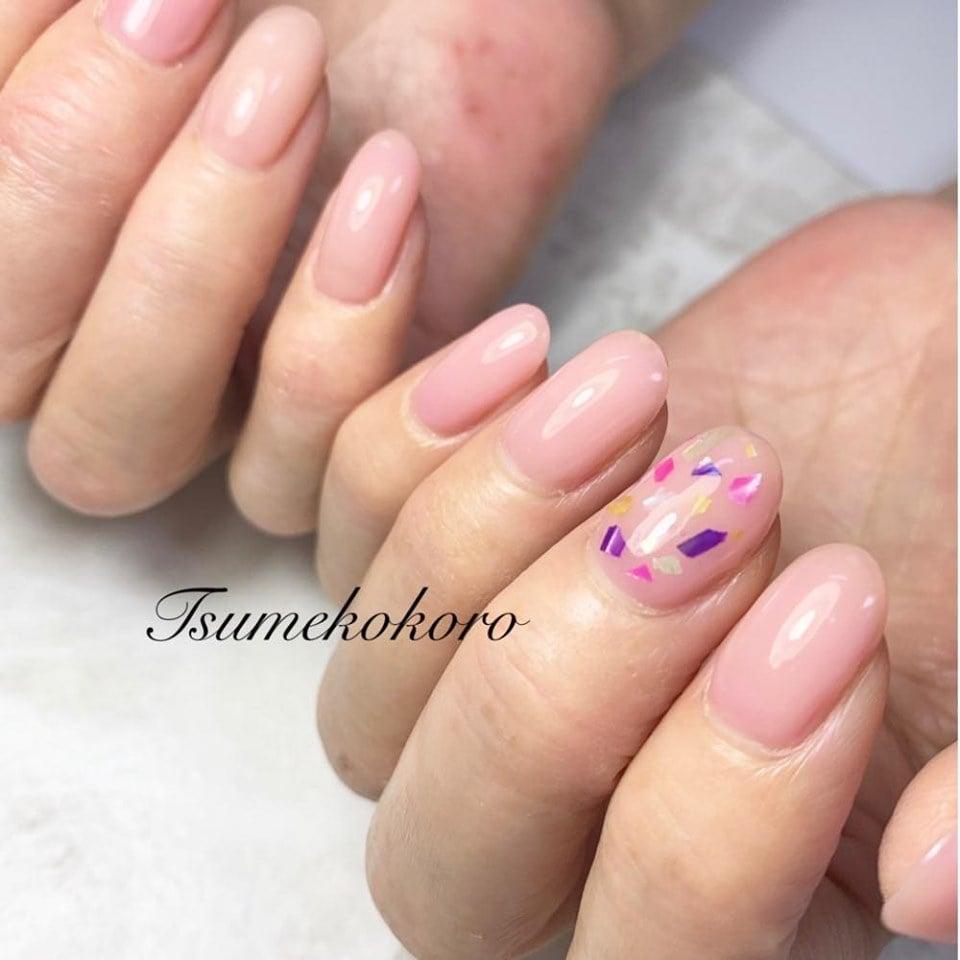 淡いピンクがかわいい