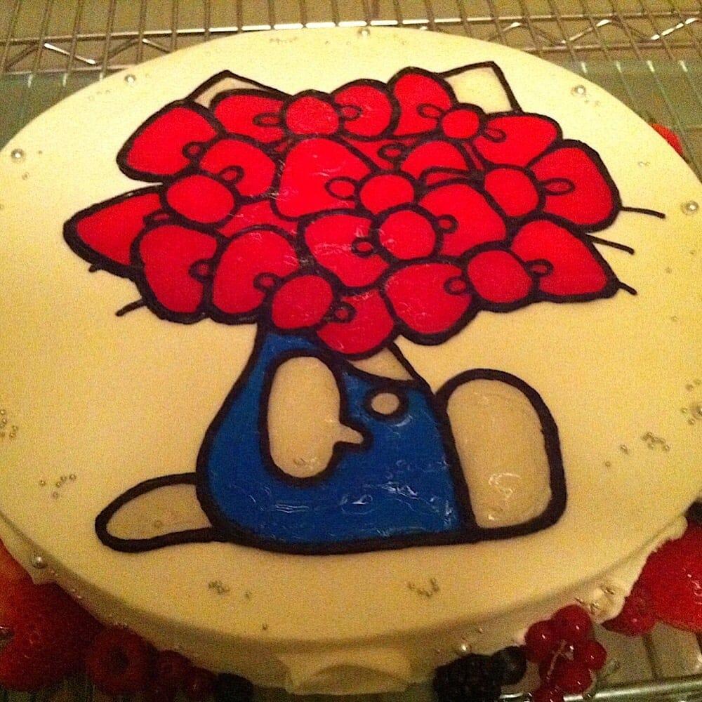 カフェとスイーツL'oursオーダーメイドケーキ