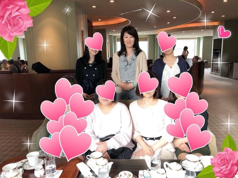 不倫愛 ヒミツの茶会を開催!@帝国ホテル