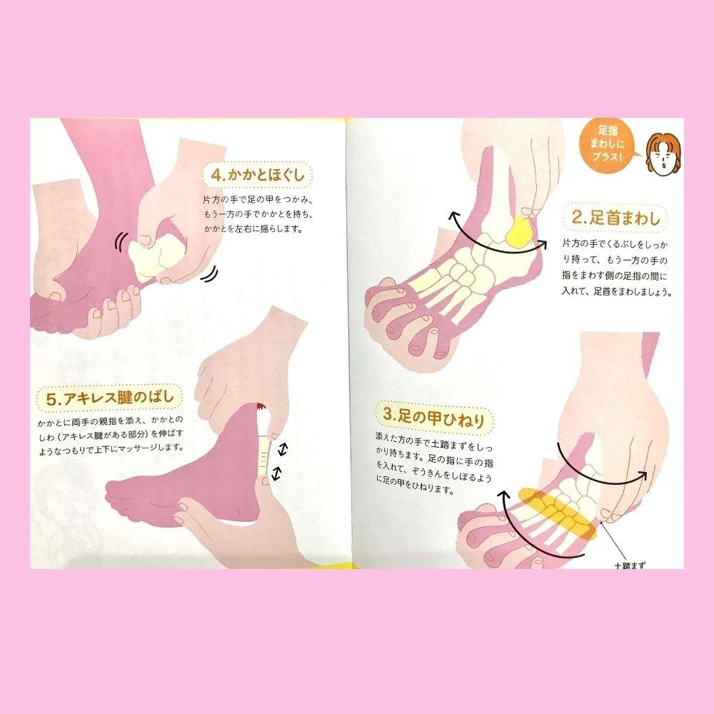太ももやせ|くびれ|品格ボディ|足指まわし|手指まわし|手指足指まわし