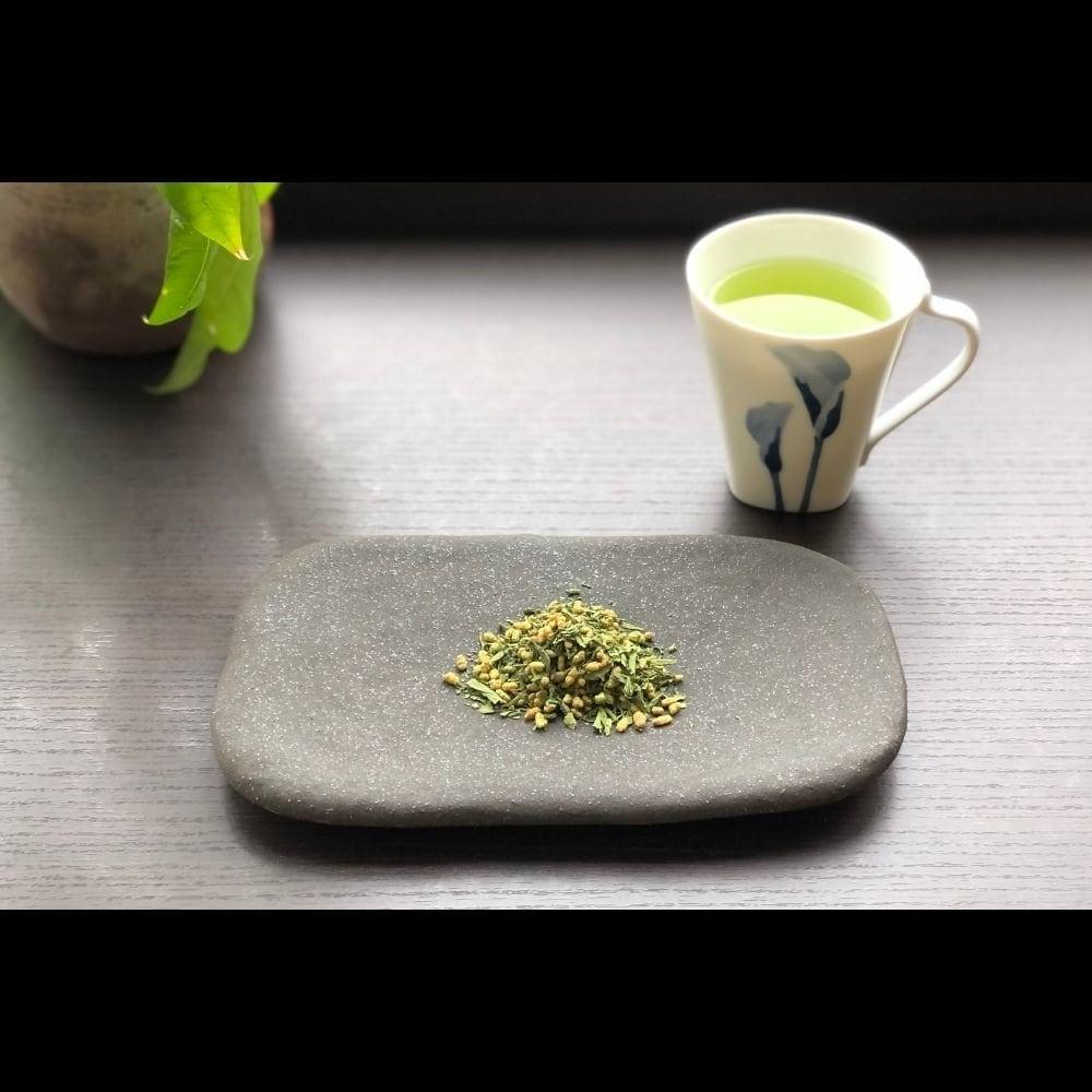 今月のお茶「抹茶入玄米茶こだわり」