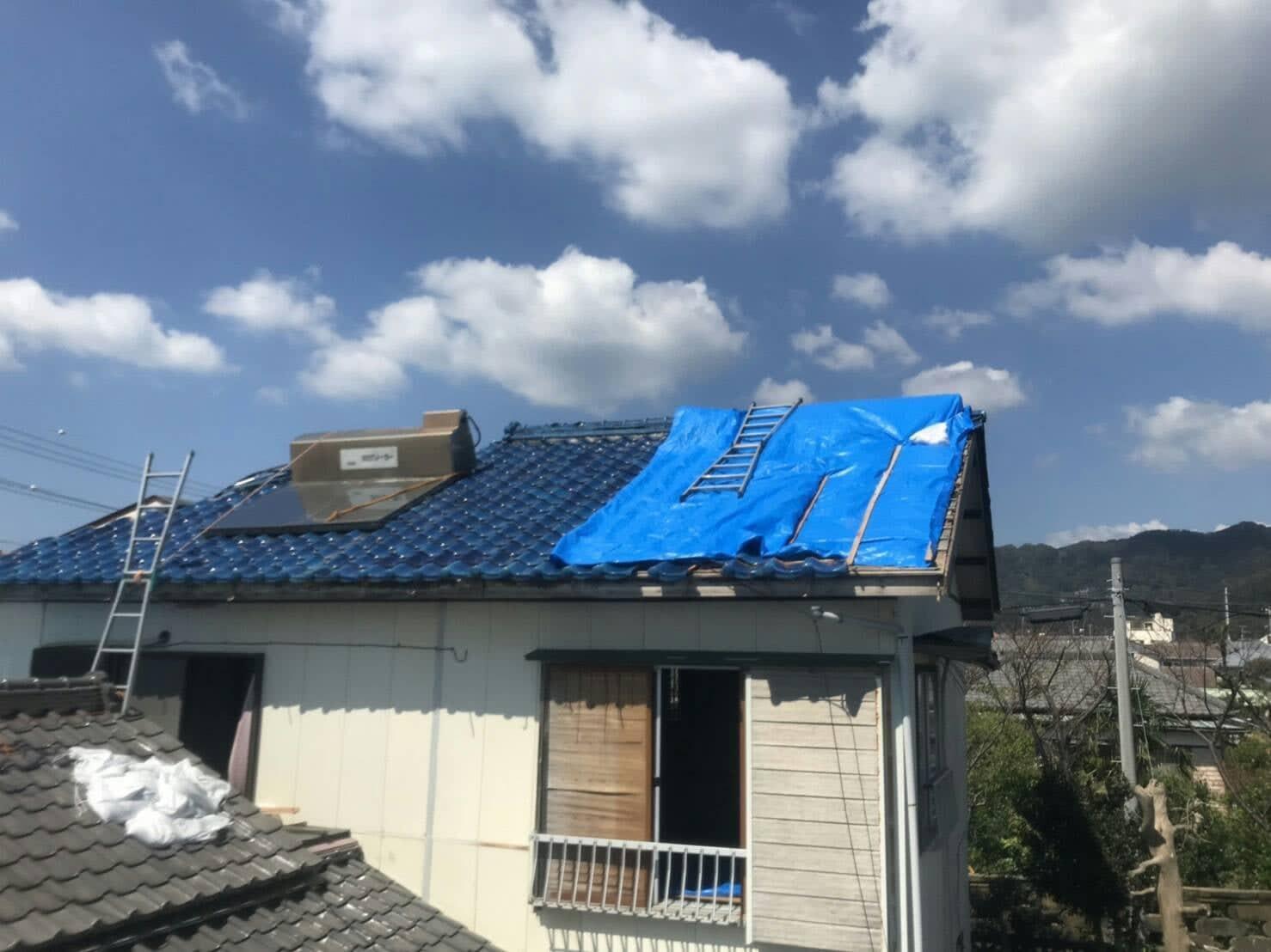 風災 屋根 受取保険金額 9,962,920円